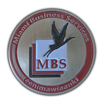 Miami Business Services Coin with Grace Waterfowl Bird in Flight