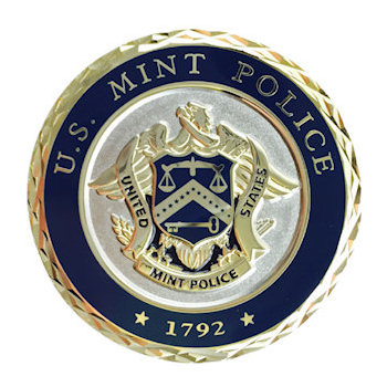 Challenge coins presented to specialize police unit