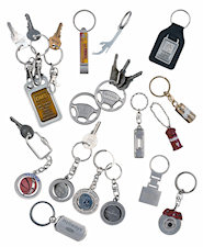 Custom Assorted Key Chains