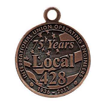 Commemorative International Union Operating Engineers - Local 428