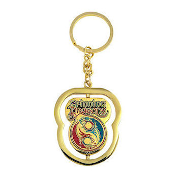 Color dragon key tag
