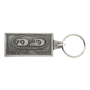 Cargo Tanks and Trailer Tankers Manufacturing Logo on Rectangular Key Tag