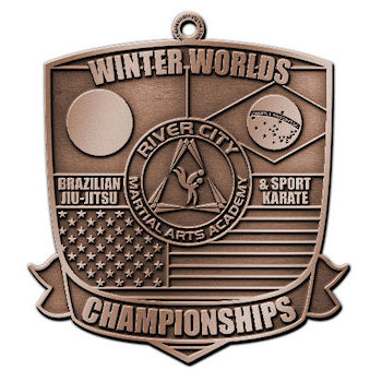 Winter Worlds Championships Martial Arts MEdal