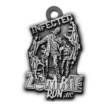 Zombie Run LLC Medal