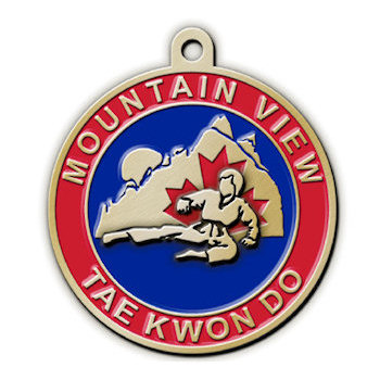 Mountain View Tae Kwon Do Medal