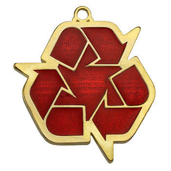 Reduce/Reuse/Recycle Medal
