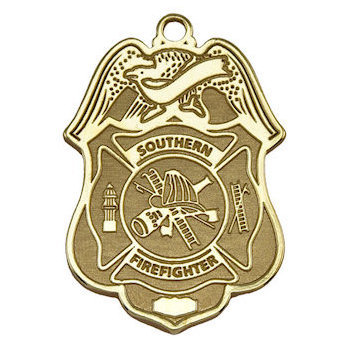 Firefighter Award Medal