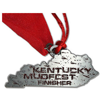 Kentucky Mudfest Finisher Medal