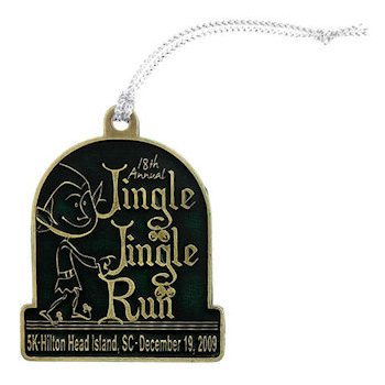 Annual Jingle Jingle Run Medal