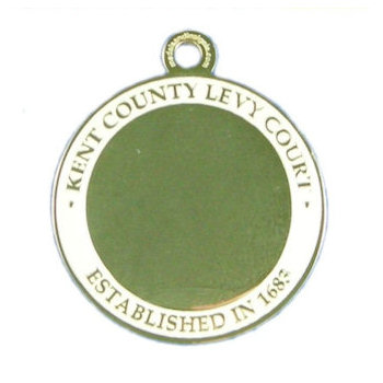 Kent County Levy Court Medal - Established in 1682