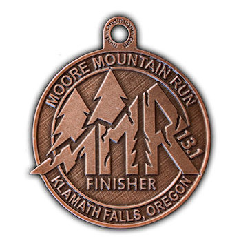 Mountain Run Medal