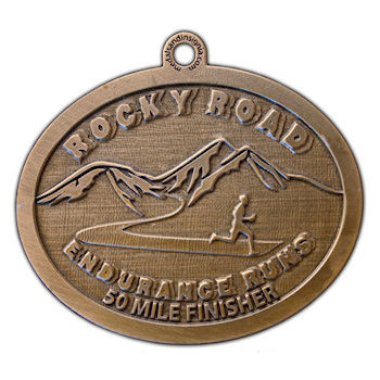 Rocky Road Finisher Medal
