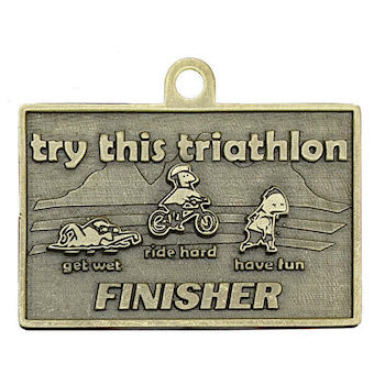 Try This Triathlon Finisher Medal