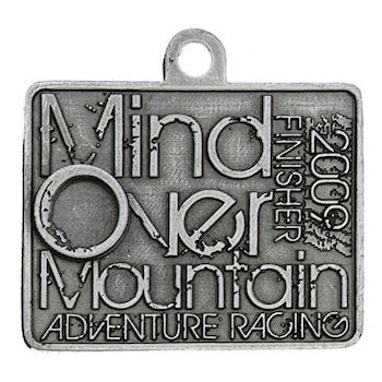 Mind Over Mountain Finisher Medal