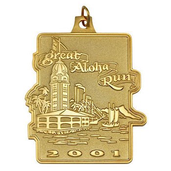 Made to order Running Medal