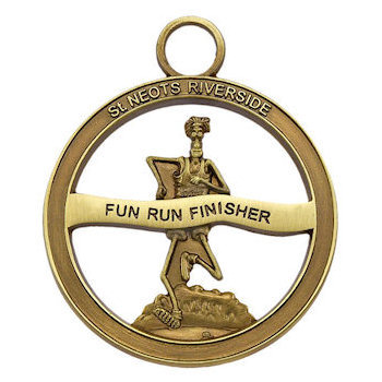 3D Fun Run St. Neots Riverside Finisher Medal