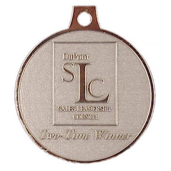 Sales Leadership Council - Two-Time Winner Medal