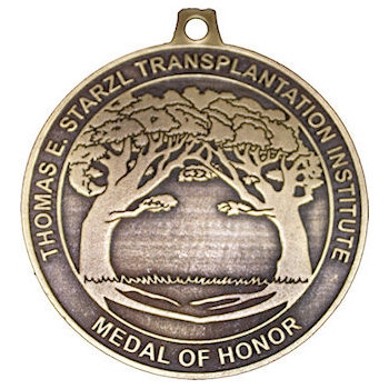 Thomas E. Starzl Transplantation Institute Medal of Honor with Trees