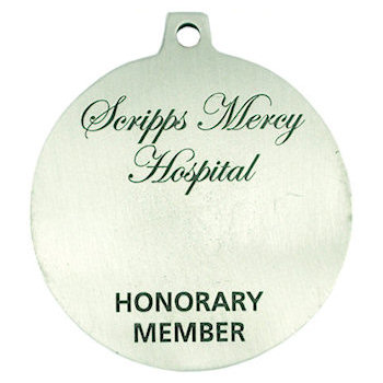 Scripps Mercy Hospital - Honorary Member Medal