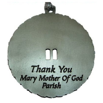 Roman Catholic Mariology ornament with cutout
