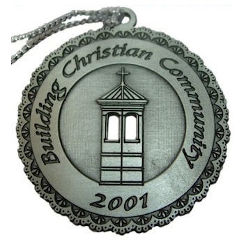 Commemorative Christian Community 2001 Ornament