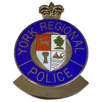 Colorful York Regional Police Badge