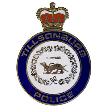Tilsonburg Police Badge