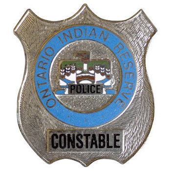 Ontario Indian Reserve Constable Badge