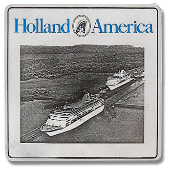 Holland America Cruiseline Plaque with cruise ships