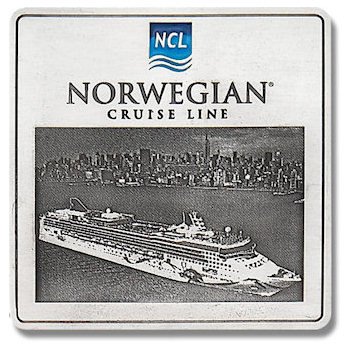 Norwegian Cruise Line Plaque