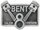 Sample custom pewter belt buckle
