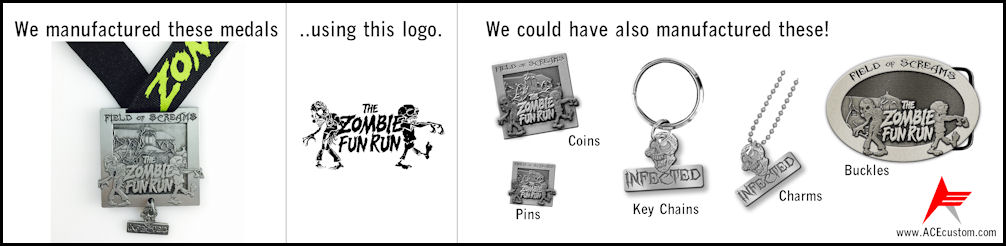 We will take any sort of logo or sketch and show you how can have a custom piece