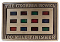 100 mile run belt buckle