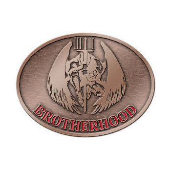 Custom Belt Buckles With Color Enamel Accents Your Logo