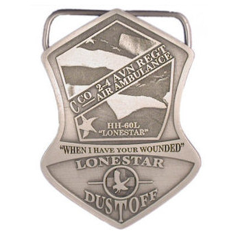 Custom Military Belt Buckles and Challenge Coins