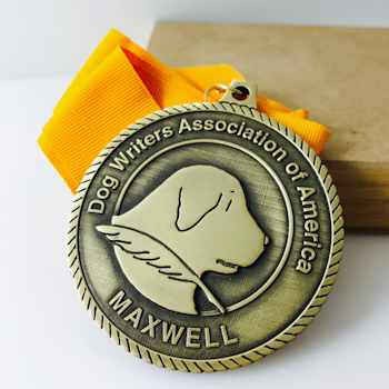 Custom Dog Medal with Ribbon