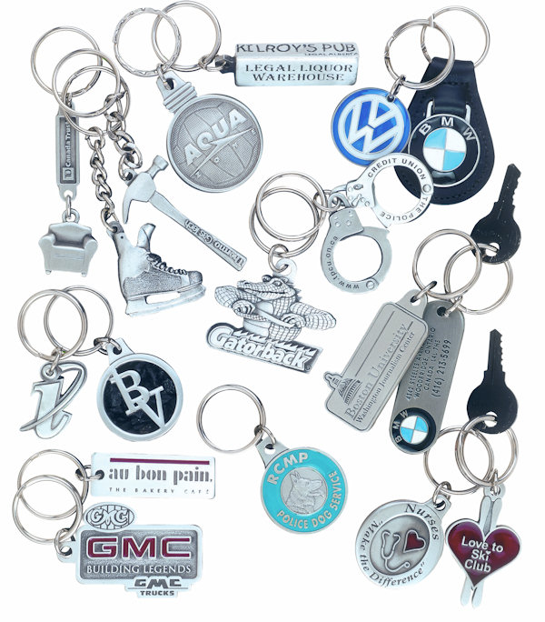 Custom Pewter Key Tags and Key Chains