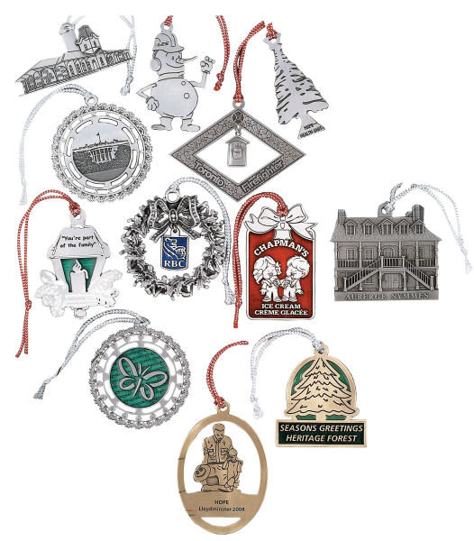 Custom Pewter Ornamens Perfect for holidays Anniversaries and celebrations  Is Your Design Next?