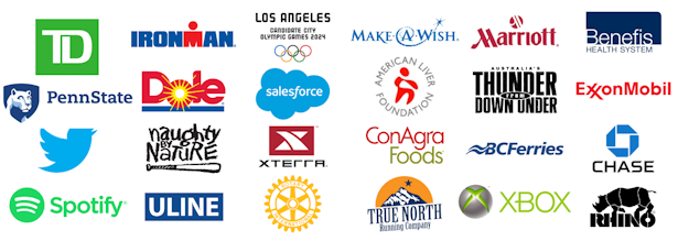 just a handful of the great brands we have worked for