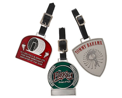 Custom Bag Tags - Your Logo, style, shape, colors