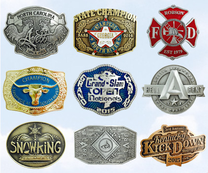 Custom Belt Buckles - Your Logo, style, shape, colors