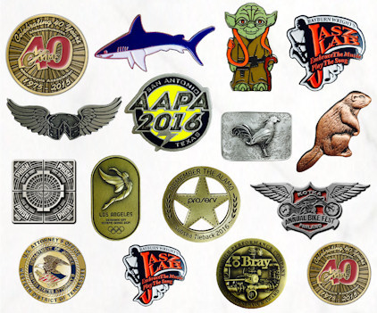 Custom Pins, Lapel Pins, Trading Pins - Your Logo, style, shape, colors