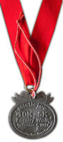 Medal with ribbon and Ornament String
