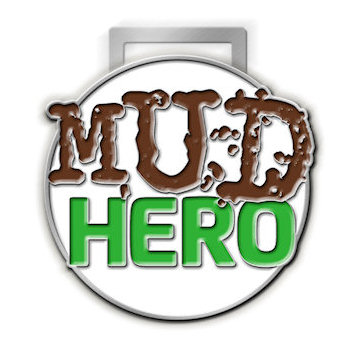 Custom Mud Run Race Medals, Ribbons and Belt Buckles