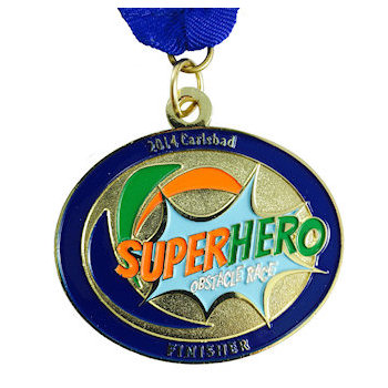 Custom Running Race Medals, Ribbons and Belt Buckles