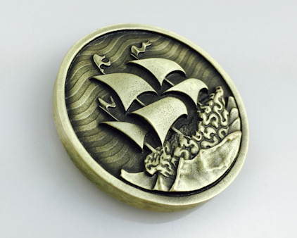 Custom 3d sculpted coins for that extra level of detail