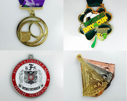 Custom Medals - unbeatable prices & service - domestic and