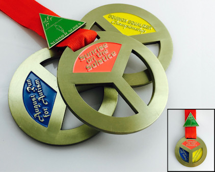 Custom Medals - unbeatable prices & service - domestic and overseas