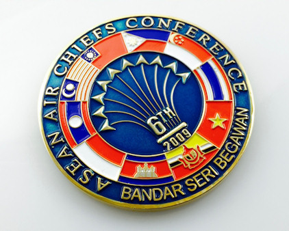 Custom Coin Photos, Including Military Challenge Coins and Logo Coins